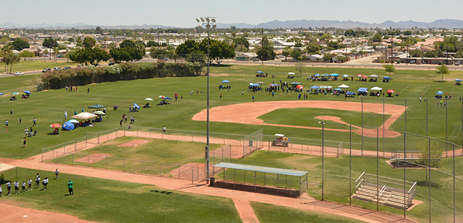 Athletic Complexes And Fields City Of Yuma Az
